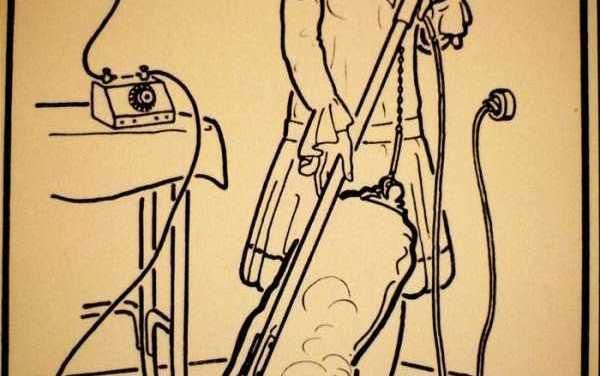 Folgorati: L'aspirapolvere