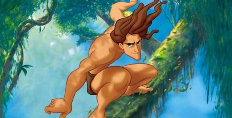 Perché Tarzan non ha la barba?