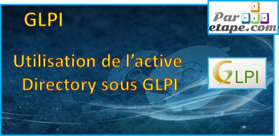 Utiliser l'Active Directory sous GLPI