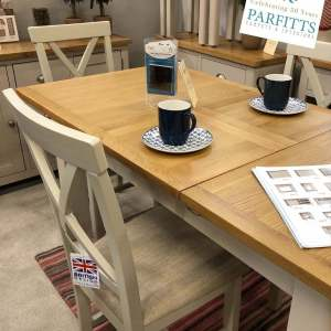 Painted oak Dinning room - Dove Grey