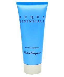 salvatore ferragamo acqua essenziale shampoo & shower gel