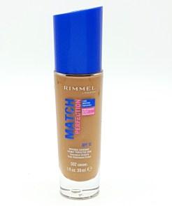 rimmel match perfection foundation no. 502 caramel