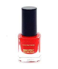 Max Factor Max Effect Mini Nail Polish 39 Ruby Tuesday