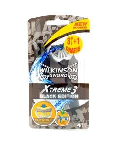 Wilkinson Sword Xtreme 3 Black Edition 4 mesjes