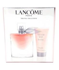 Lancôme La Vie est Belle Travel Exclusive 50ml Eau de Parfum & 50ml Body Lotion