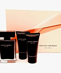 Narciso Rodriguez for Her Gift Set 50ml Eau de Toilette + 50ml Showergel + 50ml Body Lotion