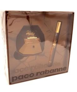 Paco Rabanne Lady Million Privé Gift Set 50ml Eau de Parfum + 10ml Travel Spray