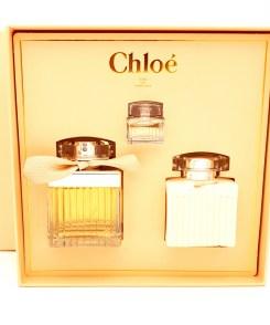 Chloé Giftset 75ml Eau de Parfum + 100ml Body Lotion + 5ml Eau de Parfum