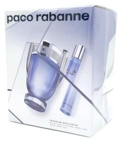 Paco Rabanne Invictus Travel Exclusive Set 100ml Eau de Toilette + 20ml Travel Spray