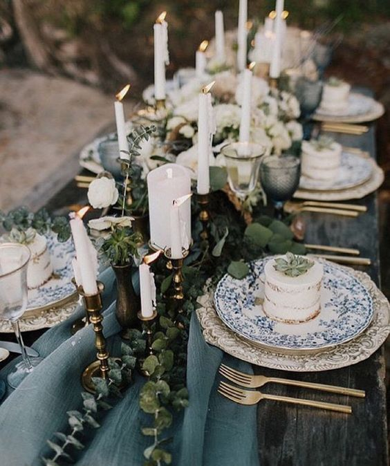25 Wedding Table Settings That Are Dressed To Impress Parfum Flower Company