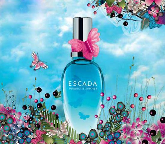 весна 2015 Escada Turquoise Summer