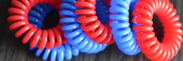 Яскраві резиночки Invisibobble