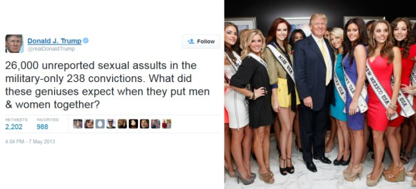 10 Times Donald Trump Was Immensely Disrespectful & Sexist ...
