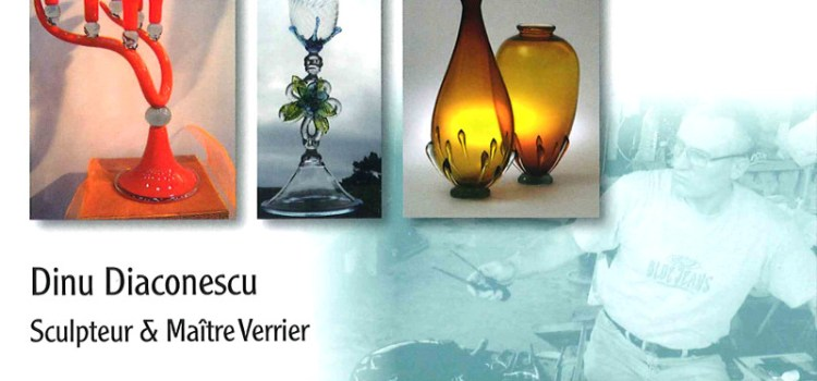 Verrerie d'art Dino Glass