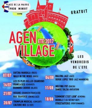 Demain soir, du jazz pour Agen Village - 03/08/2017 - ladepeche.fr