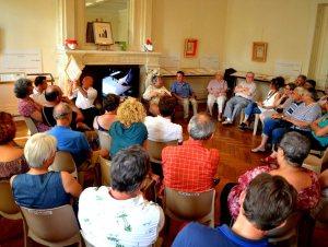 Une belle table ronde à l'exposition William Blake - 04/08/2017 - ladepeche.fr