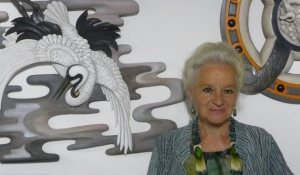 La sculptrice Eve Delaneuville à la Confrérie des métiers d'art - 12/08/2017 - ladepeche.fr