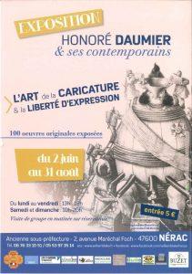 Exposition Honoré Daumier & ses contemporains / Albret / Lot-et-Garonne