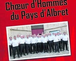 Le Chœur d'hommes du pays d'Albret en concert - 13/06/2018 - ladepeche.fr