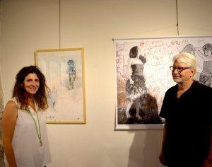 L'intime et l'ailleurs à la galerie des Tanneries - 21/08/2018 - ladepeche.fr