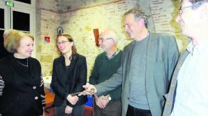 Diane Joy a «fouillé» en détail l'histoire du prieuré - 01/12/2018 - ladepeche.fr