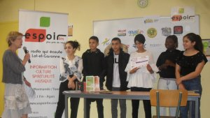 Concours radio Espoir FM : six groupes de jeunes récompensés sur le thème de la citoyenneté - ladepeche.fr