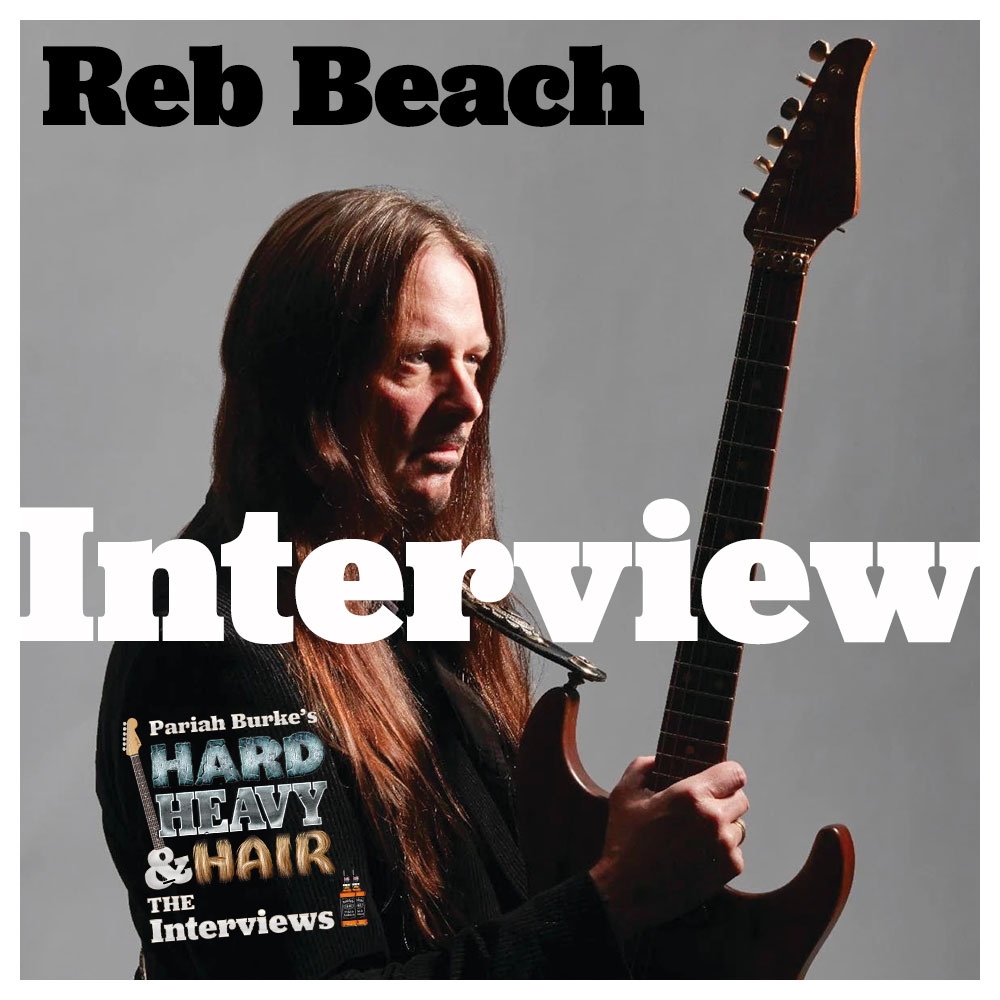 Reb Beach (Whitesnake, Winger, Black Swan, guitarist) Interview