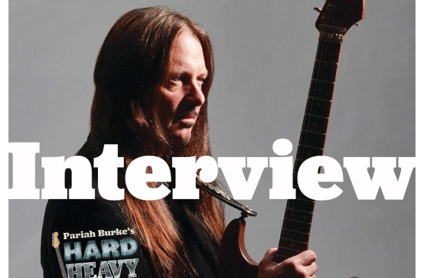 Reb Beach (Whitesnake, Winger, Black Swan, guitarist) Interview