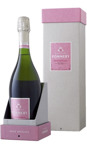 Champagne Pommery Rosé Apanage