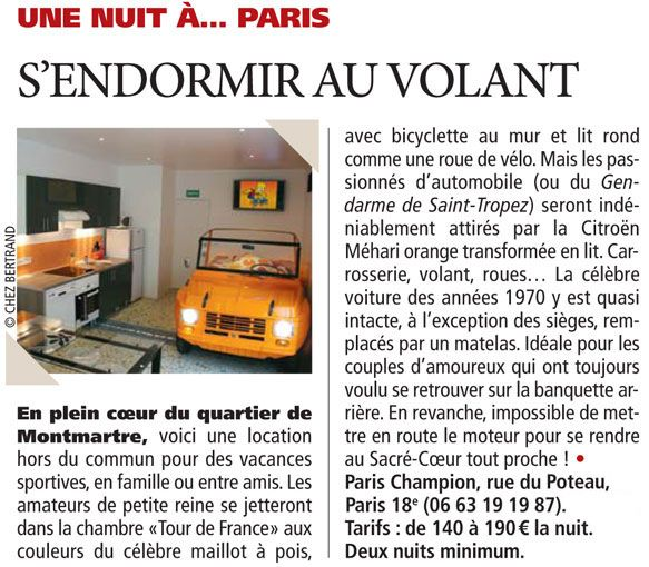 Direct Matin article