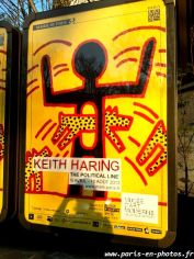 affiche expo Haring