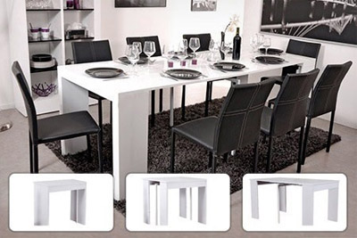 table console extensible pas chere a