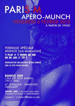 PariS-M Apero Munch février 2015