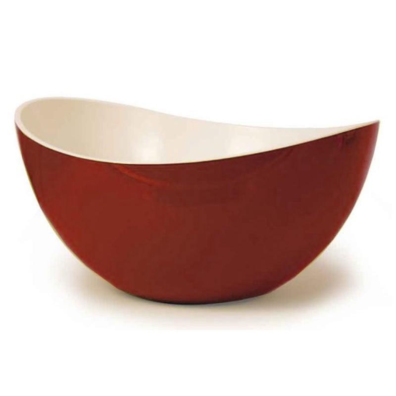 Bol Bicolore 14 cm Rouge