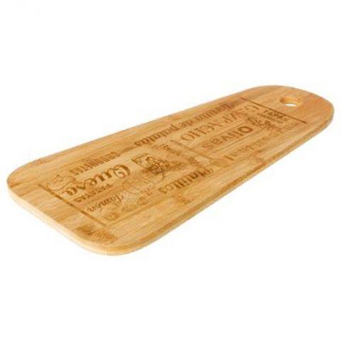 planche a decouper bambou tapas 45cm naturel