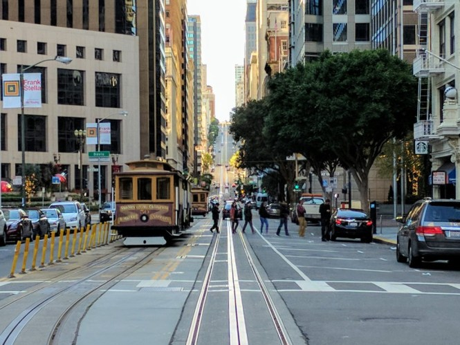Prendre le bus a San Francisco