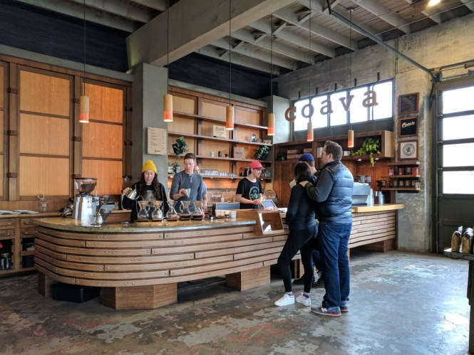 Café Coava Coffee Roaster, Portland, Oregon