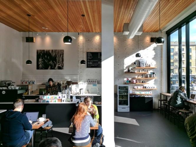 Café Heart Coffee Roaster, Portland, Oregon