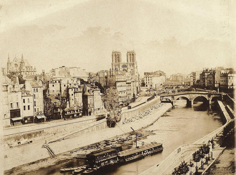 1840 notre dame avant restauration