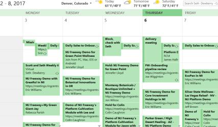 Indirizzo calendario iCAL Office365