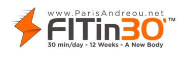 FITin30' & GRAD SCHOOL by Paris Andreou Logo
