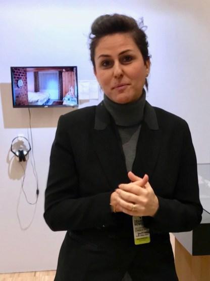Joana Neves, directrice artistique de Drawing Now à l'international © Isabelle Henricot