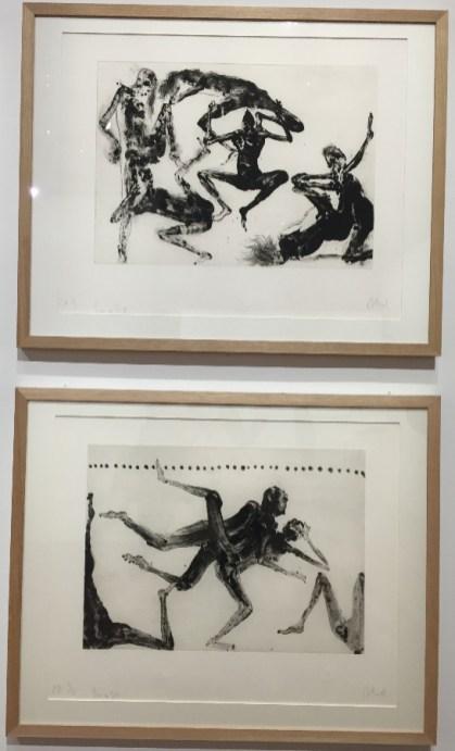 «Les 120 journées», série Pornográficas, Lanzarote, 2000, eau-forte et aquatinte © Isabelle Henricot