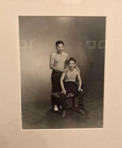 Masahisa Fukase et son père © Isabelle Henricot