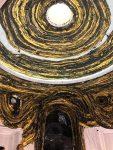 Mark Bradford, Saturn returns, 2013-17 (Rotonde du pavillon américain) © Isabelle Henricot