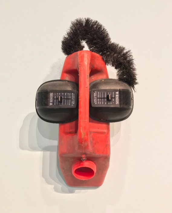 Romuald Hazoumé, Masques © Isabelle Henricot