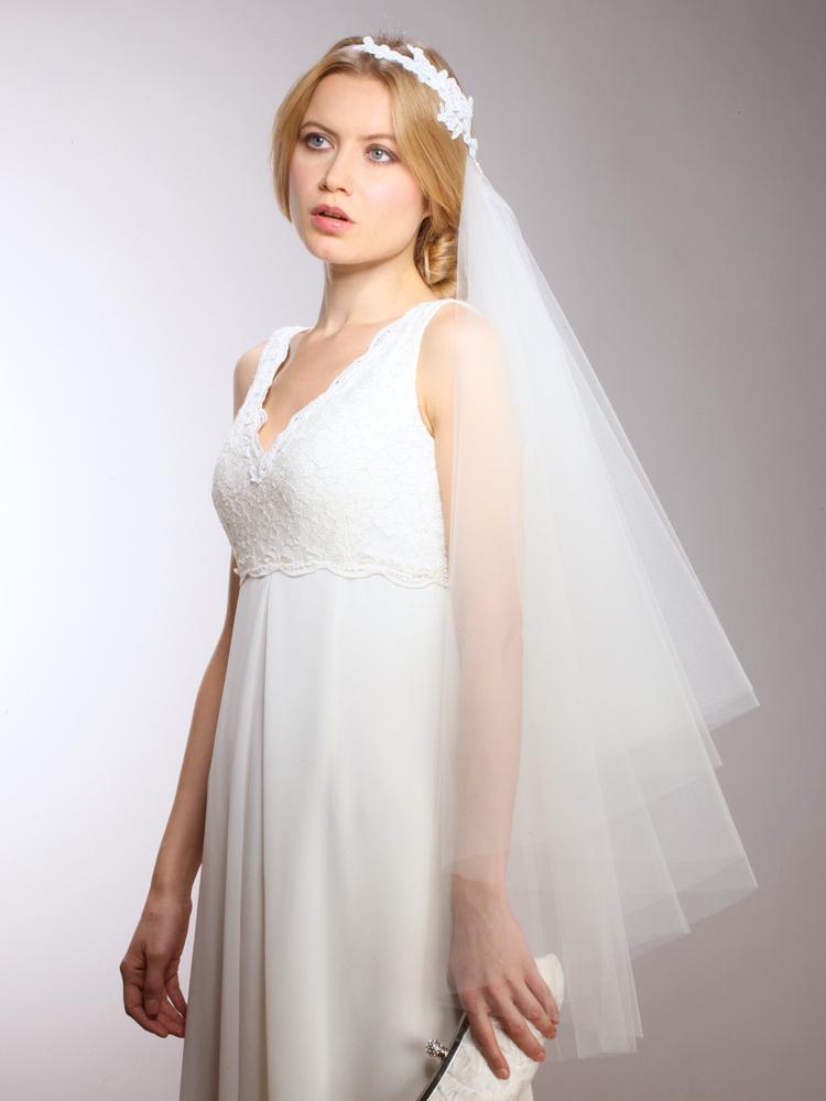 Couture Cascading Veil