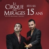 affiche LE CIRQUE DES MIRAGES - YANOWSKI & FRED PARKER