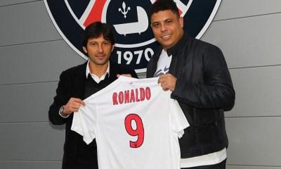 Ronaldo avec le maillot du PSG !