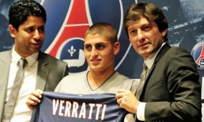 """Le PSG a fait signer la """"merveille"""" Verratti en """"à peine 10 minutes"""""""